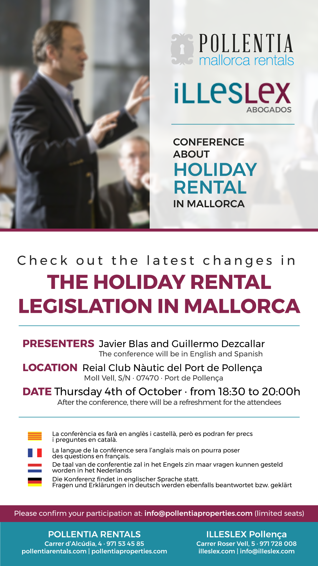 The holiday rental legislation in Mallorca