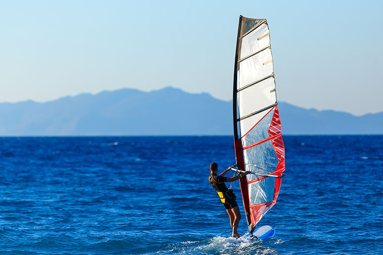 The bays of Pollensa, and Alcúdia offer a great selection of water sports, and holiday villas in Mallorca.