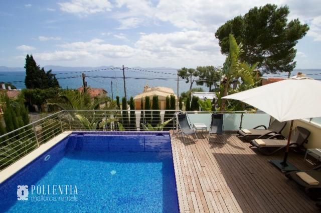 Ren2032 villa en alquiler en alcanada alc dia mallorca baleares mallorca - Piscina coberta l alcudia ...