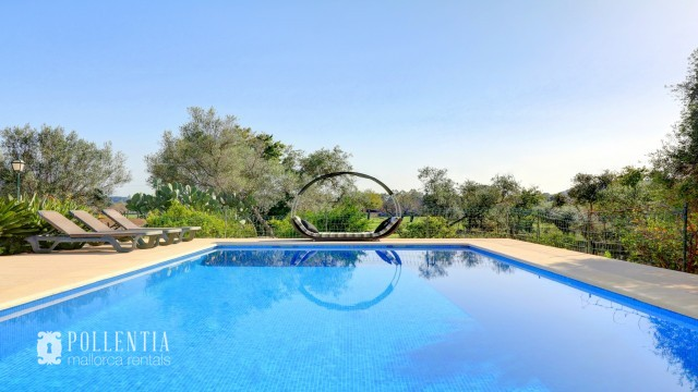 Peaceful finca with pool in Pollensa