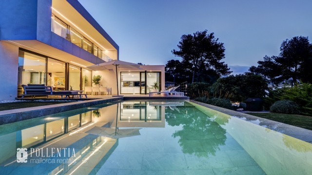 Luxury villa to rent in Spain - Mallorca in Puerto Pollensa with garden and pool